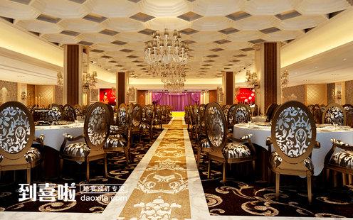 特色餐厅 千江月海鲜大酒店(佘山店)  酒店设计师花费半年的时间精心