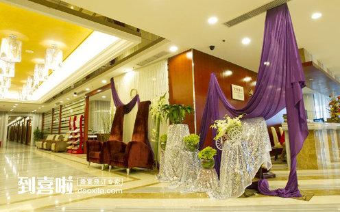 大厅装饰典雅富丽,富有欧式之风情