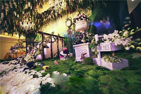 温馨,浪漫,小清新风格的森林系主题婚礼