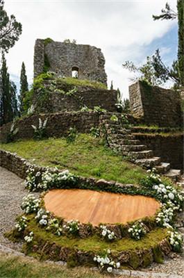 越人间仙境一场古堡里的薰衣草婚礼 2